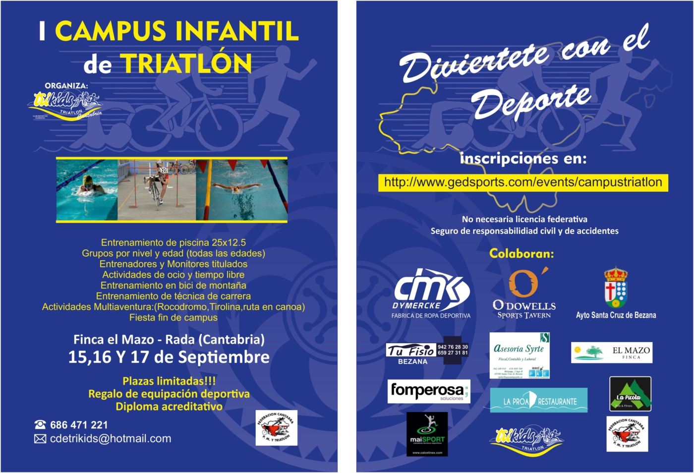 CAMPUS INFANTIL DE TRIATLON